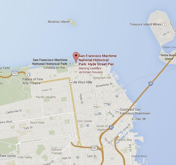 San Francisco Fishing Charter Boat Contact Us San Francisco - Us map with san francisco
